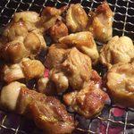 炭火焼 嘉。 - メインの地鶏