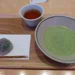 茶房 叶 匠寿庵 - 抹茶セット