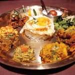 サンサール - ネパール惣菜がいっぱいだよ