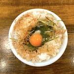 江川亭 - ニャン玉ご飯(300円)