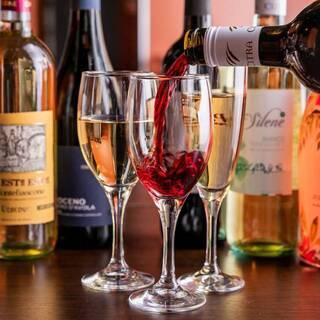 樽生スパークリングワインが480円◎ノンアルカクテルも充実