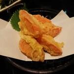 らくだの台所 - 料理写真:トマトの天ぷら
