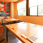 漁師寿司 海蓮丸 - 2階個室テーブル席①