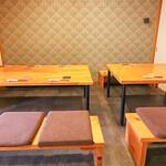 漁師寿司 海蓮丸 - 2階個室テーブル席②