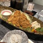 わらべ菜魚洞 - アジフライ¥1050