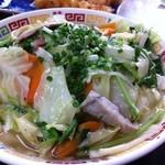 くになか食堂 - 野菜そば(600円)