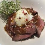 ムサシノバル - ローストビーフ丼