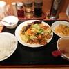 好味来 - 料理写真:豚レバーと野菜の辛炒め(?) 750円 ライス大盛 0円