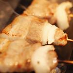 九 - もち豚バラ肉焼き