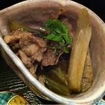 13928743 - 牛肉 茄子 牛蒡の煮物