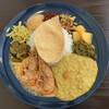 エイケイコーナー - 料理写真:スリランカのライス&カリー 今週は甘海老のカレーでした
