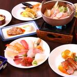 鳥羽グランドホテル - 料理写真:料理集合