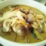 MOMO curry - グリーンカレー(きのこ)