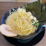 横浜家系ラーメン 一四家 - ネギラーメン(醤油・細麺)硬め、薄め、多め