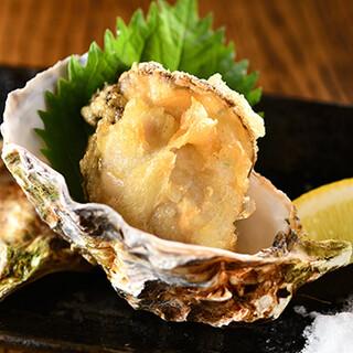 厳選した新鮮な牡蠣を使用!定番から逸品料理まで多数ご用意