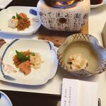 懐石 宿 扇屋 - 前菜 三種盛り