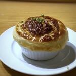 139297459 - パイ包みスープ・・この日は焼き芋(さつま芋)のスープ