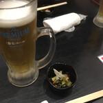 Sushisakabasushiichi - * 生ビール 320円