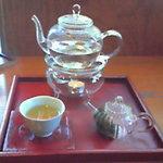 うつわや季器楽座 - ドリンク写真:凍頂烏龍茶