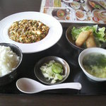13930427 - Aランチ(陳麻婆+100円)880円
