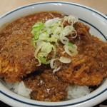 かつや - 麻婆チキンカツ丼(619円) 12.07.18.