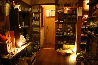一心茶房 - 一階の雑貨コーナー♪