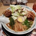 桂花ラーメン - 太肉麺。