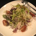 139301186 - ウサギ肉のシーザーサラダ
