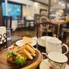 カフェ・ド・ドルチェ - 料理写真:ホットサンドのプレート