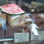 ニシモト - スイカのロールケーキ