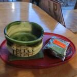139312986 - 抹茶・菓子