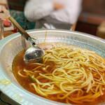 炭火焼肉 ホルモン会館 - 〆のちゃんぽん麺