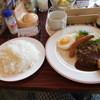 Gasuto - 料理写真:ボリュームモーニングセット628円 ライス大盛り無料