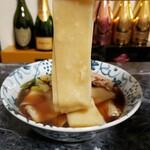 藤屋本店 - 麺リフト