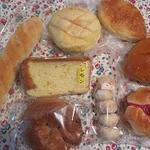 13933175 - 今回買ったパン達