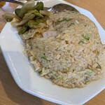 彩蓮 - 炒飯アップ