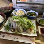 コジロ - 日替り定食500円(鰹のたたき)