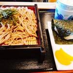 そば蔵 - 料理写真:ざる定食