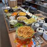 菜々家 - 惣菜ブッフェコーナー