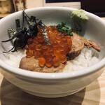 自家製麺 ビブグルメン - はらこ丼(400円)