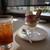 ロイヤルホスト - 料理写真:ミニパフェ、ドリンクバー
