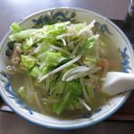中華料理 大来軒 - タンメン