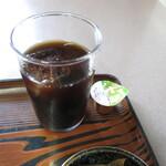 中華料理 大来軒 - サービスのアイスコーヒー