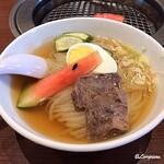 焼肉・冷麺 三千里 - 盛岡冷麺(辛味別)