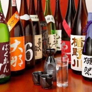 日本酒も旬の銘柄を豊富にご用意!お料理との相性もばっちり◎