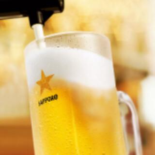■生ビール・ハイボールは380円~!