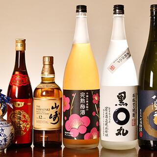 新鮮な果物を使ったサワーから中国酒まで取り揃えております