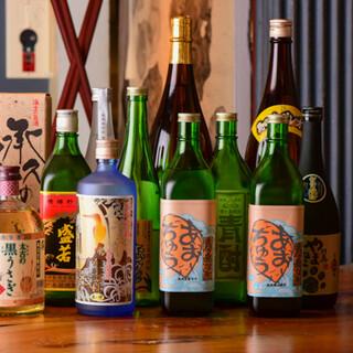 離島のビールや焼酎・日本酒、特産果実入りハイボールやサワーも