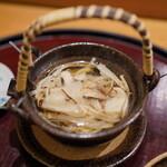 日本料理 太月 - 松茸の土瓶蒸し