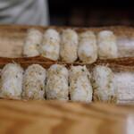 日本料理 太月 - ちりめん山椒のおにぎり:お土産